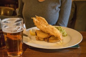 The Market Pub Fish and Chips