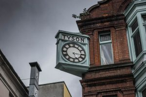 Stags Head Dublin Tyson clock