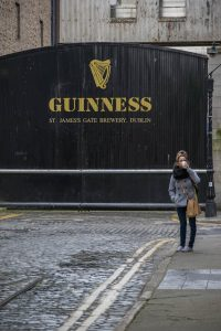 OUtside Guinness Storehouse