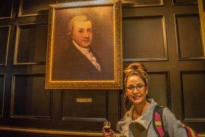 Arthur Guinness with Ashley