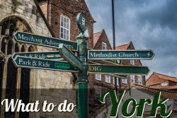 What's there to do in York